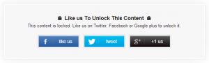 social locker para Blogger