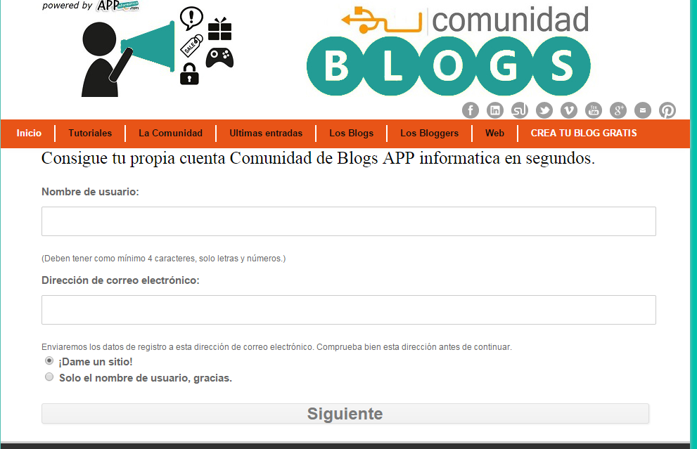 crear blog tecnologico