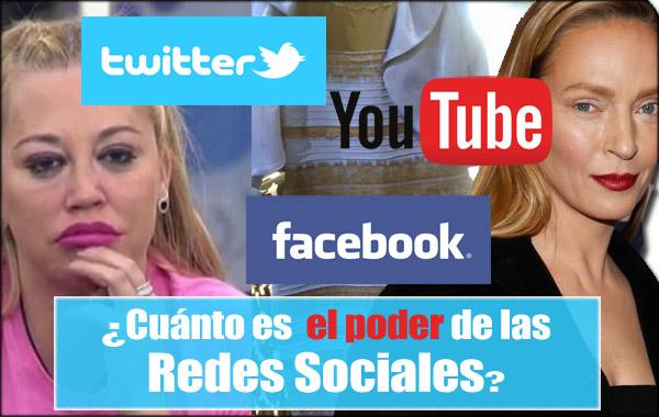 redes sociales en blogger