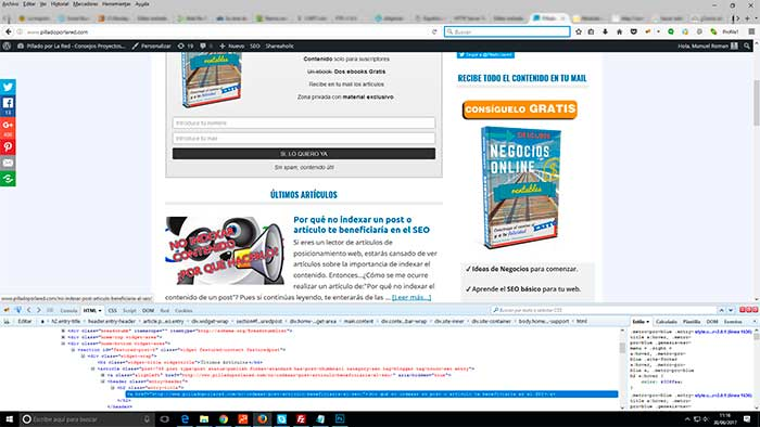 articulos optimizados wordpress