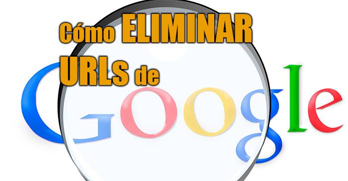 desindexar url de google