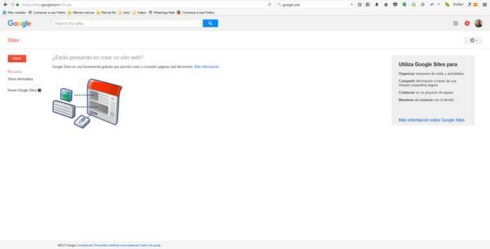 creaar google site